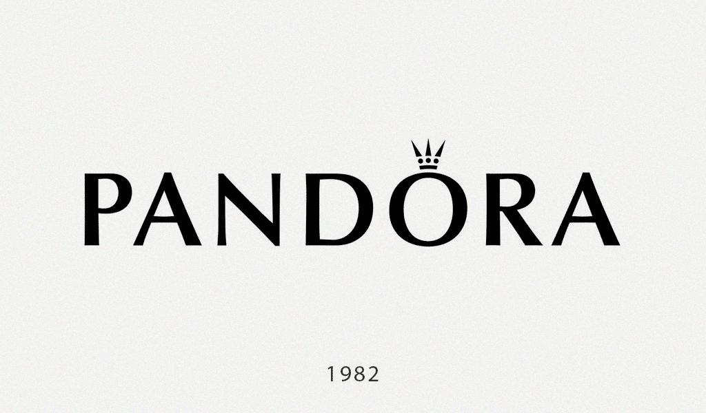 Pandora logo history