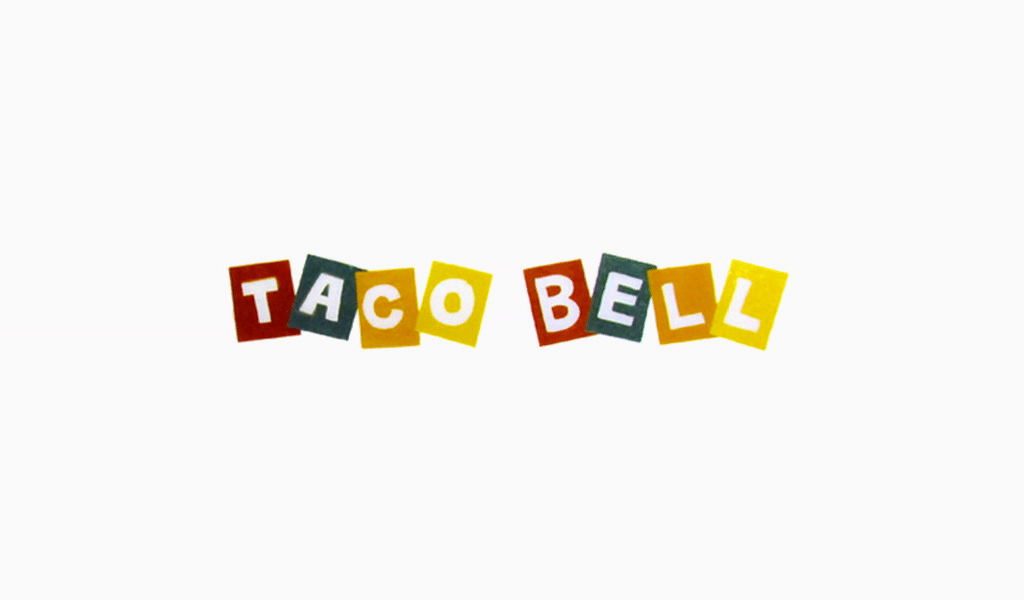 Taco Bell first logo