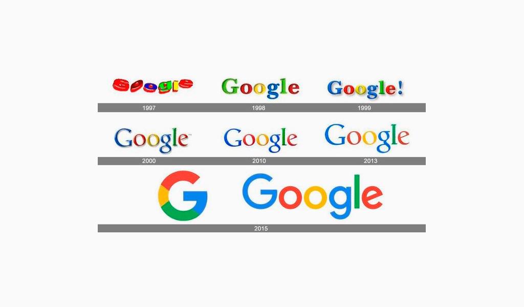 Cambio de marca Google