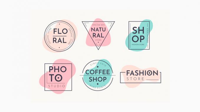 Pastel logos