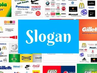 Logos with a slogan