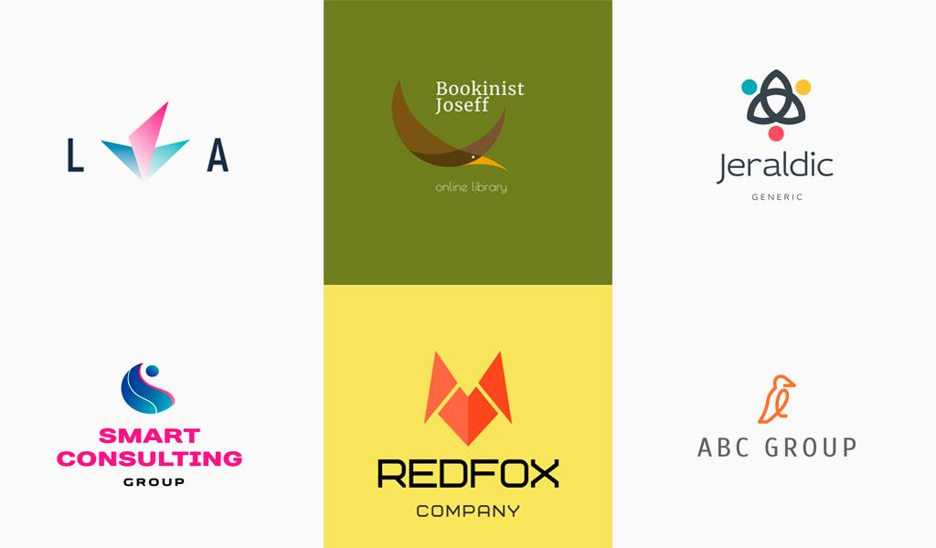 Abstrakte Logos