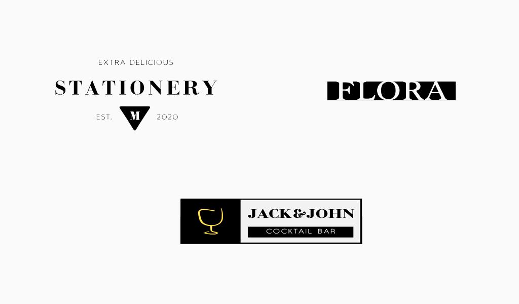 Moderne Logos