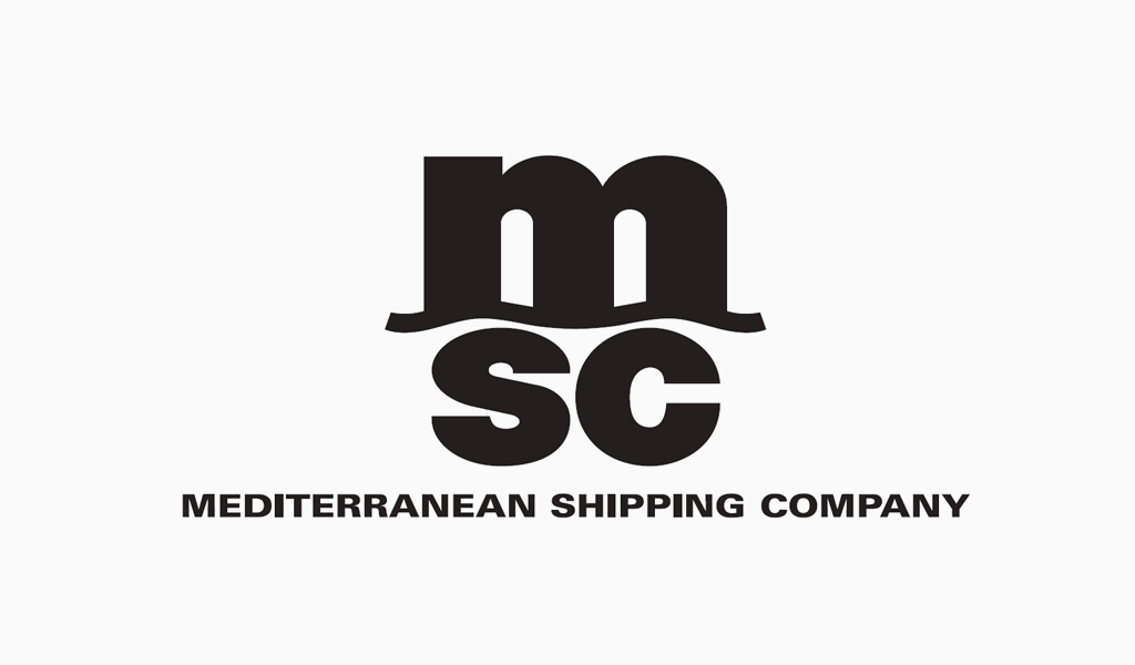 Logotipo da Mediterranean Shipping Company