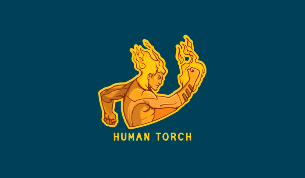 Brennender Mann Gaming Logo